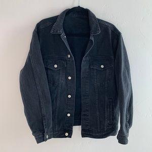 Brandy Melville John Galt Oversized Jean Jacket